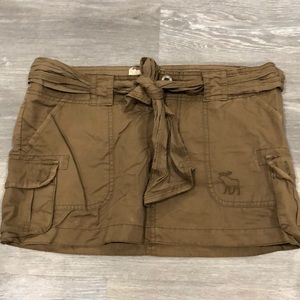 Abercrombie mini skirt